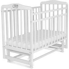 Кроватка Sweet Baby Ennio Bianco, белый