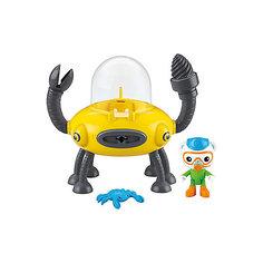 """Игровой набор Mattel Fisher Price """"Октонавты. Подводный транспорт"""", Клав и Дрил"""