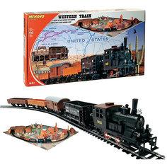"Железная дорога Mehano ""Western Train"" с ландшафтом"