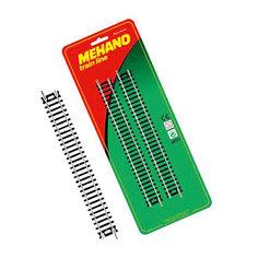 Прямые рельсы для железной дороги Mehano, 4 шт
