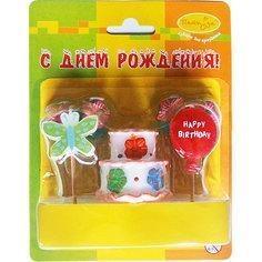 MC Свечи Праздничный торт 7шт Патибум