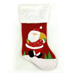 """Рождественский сувенир - носочек """"Дед Мороз"""", 48 см Mag2000"""