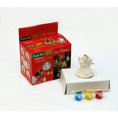 Набор для детского творчества, девушка, 3 краски, коробка 4.7x4.7x8.8см Mag2000
