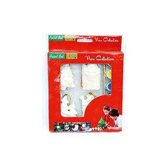 Набор для детского творчества, керамика, 4 фигурки - 4*1*6,5 см, 6 красок, в красной коробке 17*2,3*22 см Mag2000
