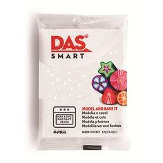 Полимерная паста для запекания DAS SMART 57 гр, белая с блестками