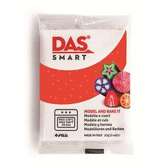 Полимерная паста для запекания DAS SMART 57 гр, красная с блестками