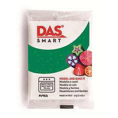 Полимерная паста для запекания DAS SMART 57 гр, зеленая с блестками