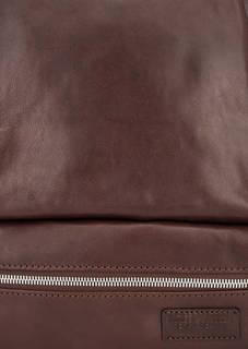 Коричневая сумка-рюкзак с одним отделом Sergio Belotti