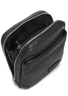 Однотонная сумка со стационарным плечевым ремнем Sergio Belotti