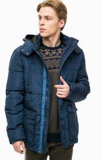 Синяя демисезонная куртка Blend