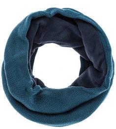 Бирюзовый трикотажный шарф-хомут Buff