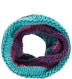 Разноцветный шарф-хомут с подкладкой Buff