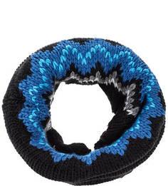 Вязаный шарф-хомут с подкладкой Buff