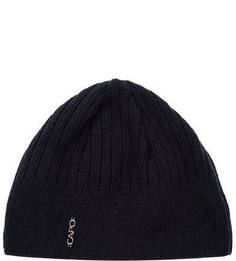 Синяя трикотажная шапка с подкладкой Capo