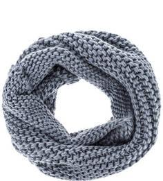 Синий вязаный шарф-хомут Capo