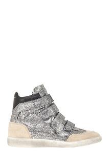 Кожаные кроссовки Bilsy Isabel Marant