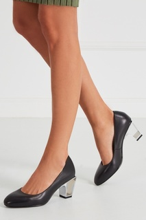 Черные кожаные туфли Icon Pump Mid United Nude