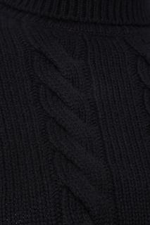 Кашемировый свитер с косами Miu Miu