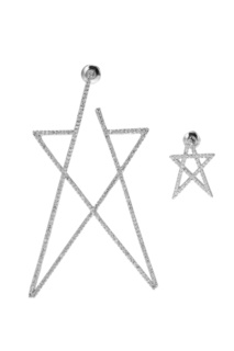 Серьги-звезды с кристаллами Lisa Smith