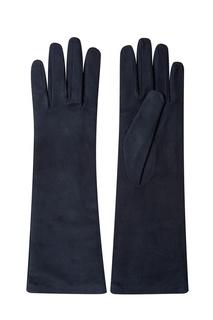 Черные замшевые перчатки Max Mara Weekend