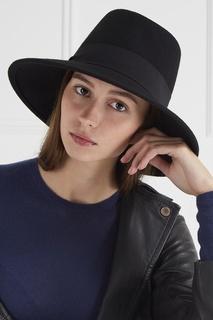 Черная фетровая шляпа MAX Mara