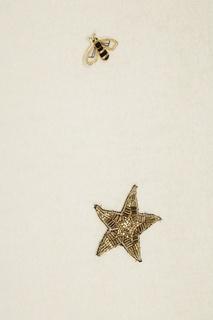 Шерстяной джемпер со звездами Ermanno Ermanno Scervino