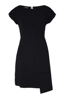 Платье со складкой сбоку Rochas