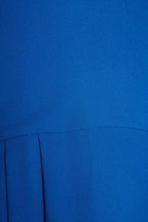 Платье-миди с драпированным подолом Rochas