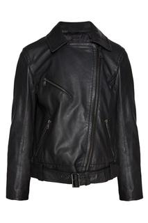 Куртка на молнии из эко-кожи Max Mara Weekend