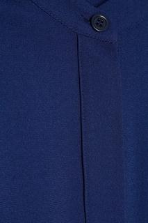 Синее платье-рубашка с поясом Max Mara Weekend