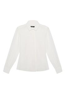Шелковая блузка с кружевом Max Mara Weekend
