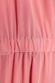 Шелковая блузка с драпировками Sportmax