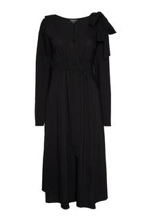 Шерстяное платье с кулиской Rochas