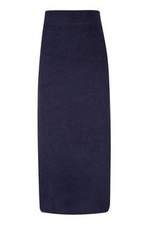 Синяя юбка из ангоры Erik Frenken