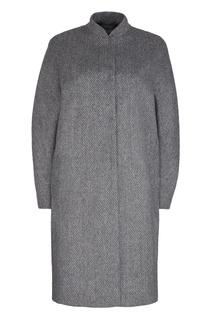 Пальто из шерсти и альпаки Freshblood