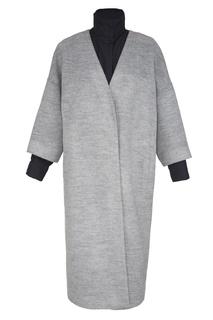 Пальто с контрастными деталями Freshblood