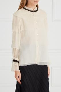 Шелковая блузка Vilshenko