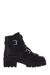 Кожаные ботинки с ремешками Razor Ash