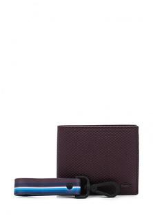 Комплект портмоне и брелок Lacoste