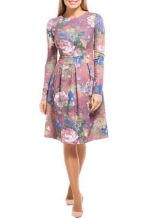 Платье-миди с объёмной юбкой Remix