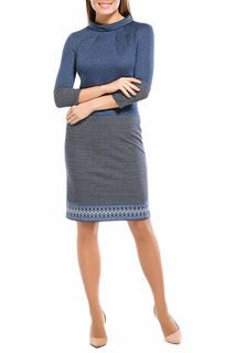 Платье делового стиля в сдержанных тонах Remix