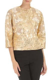 Пиджак с цветочками DOLCE & GABBANA