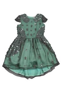 Платье с пайетками Miss Blumarine