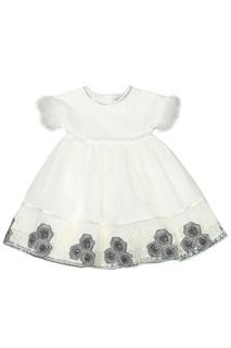 Платье с принтом BABY BLUMARINE
