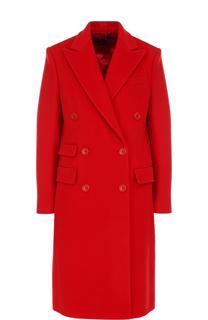 Двубортное шерстяное пальто Ralph Lauren