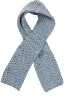 Кашемировый шарф фактурной вязки Loro Piana