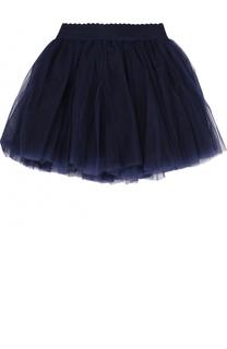 Многослойная юбка с эластичным поясом Monnalisa