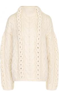 Шерстяной свитер фактурной вязки Iro