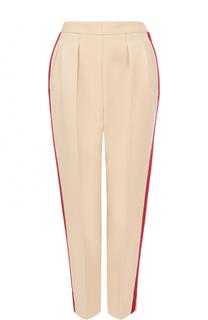 Укороченные шерстяные брюки с лампасами Maison Margiela