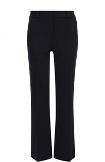 Шерстяные расклешенные брюки с карманами Victoria Beckham
